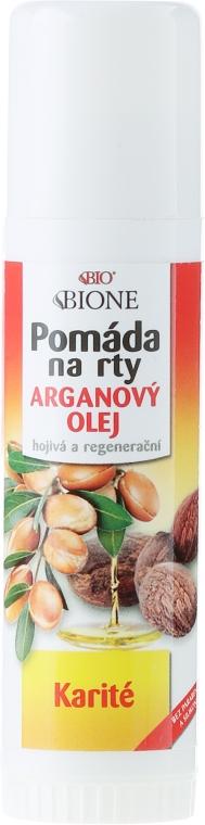 Lippenbalsam - Bione Cosmetics Argan Oil Lip Balm — Bild N1