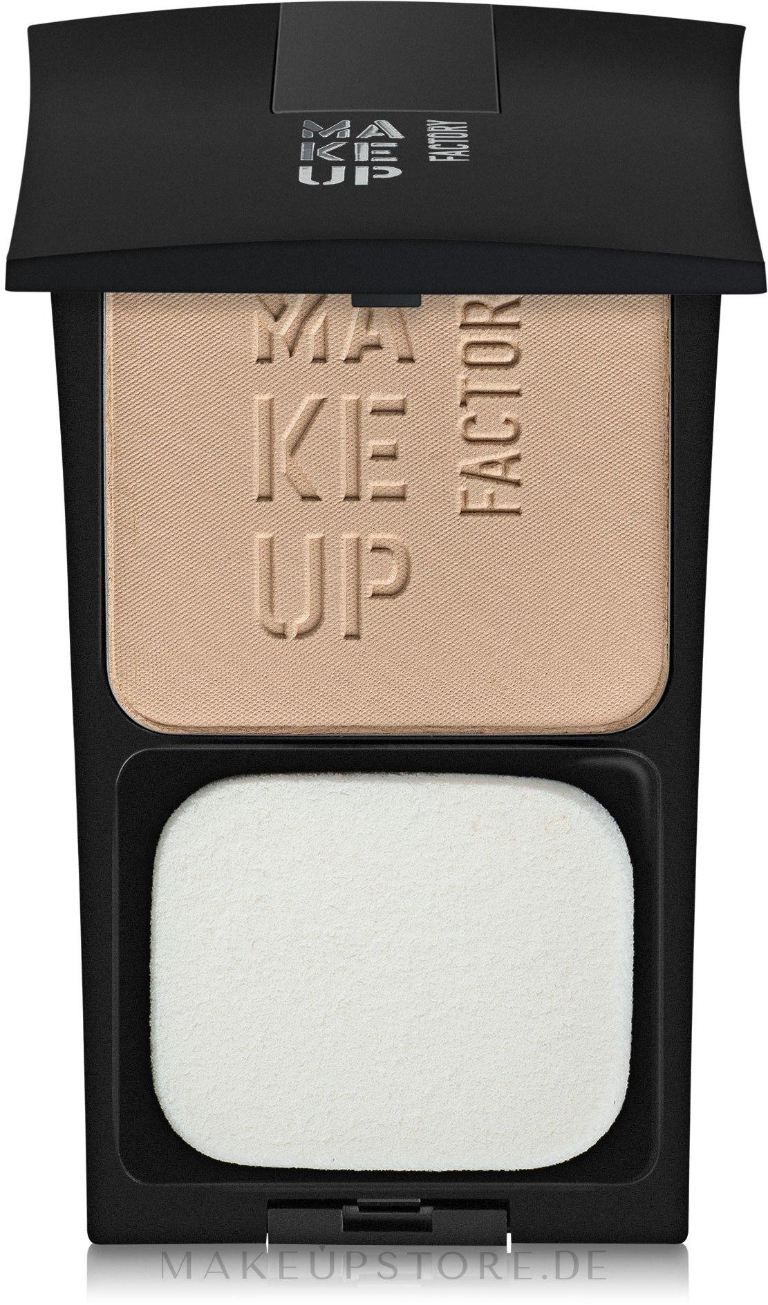 Gesichtspuder - Make Up Factory Compact Powder — Bild 3 - Napoli Sand