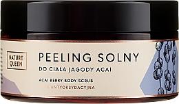 Düfte, Parfümerie und Kosmetik Meersalz Körperpeeling mit Acai - Nature Queen Body Scrub