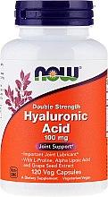 Hyaluronsäure 100 mg 120 Kapseln - Now Foods Hyaluronic Acid 100 mg — Bild N3