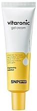 Düfte, Parfümerie und Kosmetik Aufhellende Gesichtsgel-Creme mit Vitamin C für strahlende Haut - SNP Prep Vitaronic Gel Cream