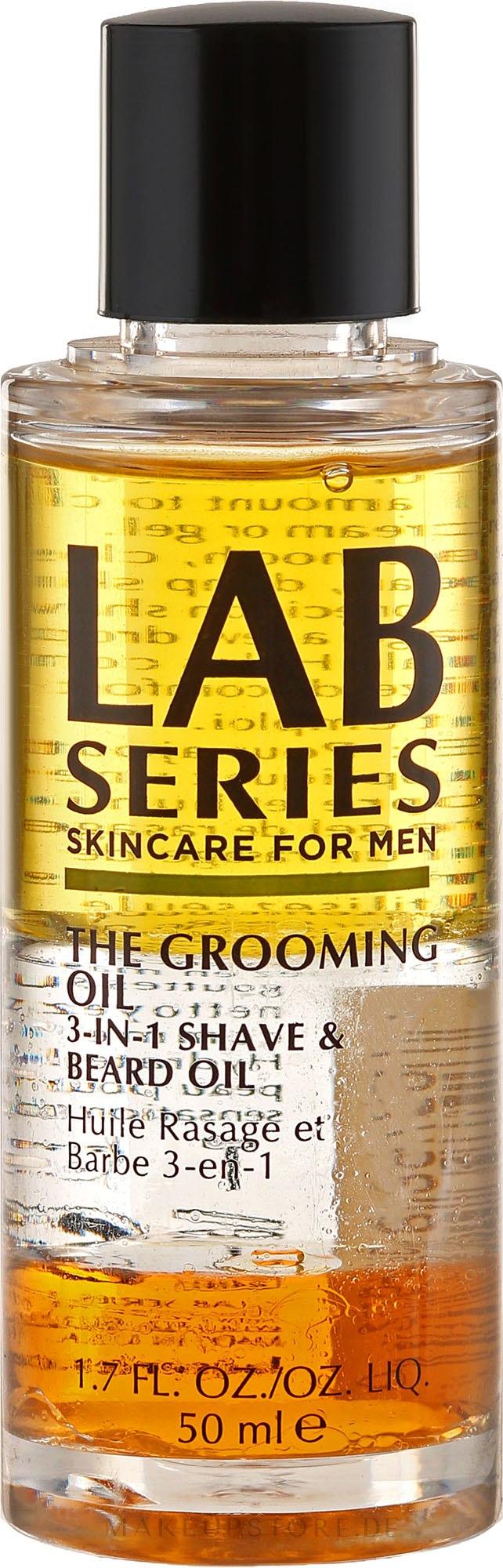 3in1 Bartöl - Lab Series The Grooming Oil 3in1 Shave & Beard Oil — Bild 50 ml