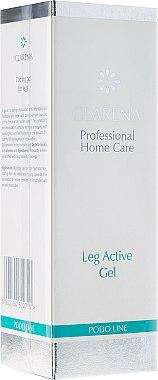 Aktives und kühlendes Gel für müde und geschwollene Beine mit Kastanienextrakt - Clarena Leg Active Gel — Bild N1