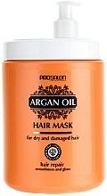 Düfte, Parfümerie und Kosmetik Regenerierende Haarmaske mit Arganöl - Prosalon Argan Oil Hair Mask