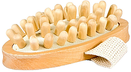Düfte, Parfümerie und Kosmetik Anti-Cellulite Massagebürste für den Körper - Najel Wooden Brush Massager Anti-cellulite