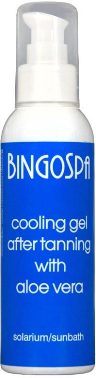Kühlendes Körpergel mit Aloe Vera und Pfefferminzöl nach dem Sonnen - BingoSpa Cooling Gel — Bild N1