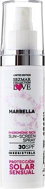 Sonnenschutzspray Marbella SPF 30 - Hristina Cosmetics Sezmar Collection Marbella — Bild N1