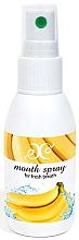 Düfte, Parfümerie und Kosmetik Erfrischendes Mundspray mit Bananengeschmack - Hristina Cosmetics Banana Mouth Spray