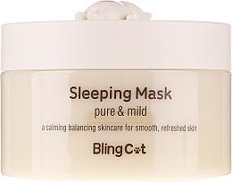 Düfte, Parfümerie und Kosmetik Gesichtsmaske für die Nacht mit Zuckerkürbisextrakt - Tony Moly Bling Cat Sleeping Mask