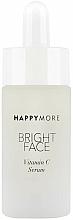 Düfte, Parfümerie und Kosmetik Aufhellendes Anti-Aging Gesichtsserum mit Vitamin C, Jojoba und Rosenöl - Happymore Bright Face Vitamin C Serum