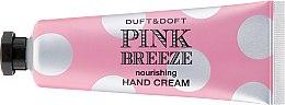 Düfte, Parfümerie und Kosmetik Luxuriöse pflegende Handcreme mit Pfirsich- und Pfingstrosen-Duft - Duft & Doft Nourishing Hand Cream Pink Breeze Peach & Peony