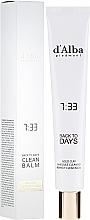 Düfte, Parfümerie und Kosmetik All-in-One-Reiniger für das Gesicht mit schwarzem Reisextrakt und 23% Olivenöl - D'Alba Back To Days Clean Balm