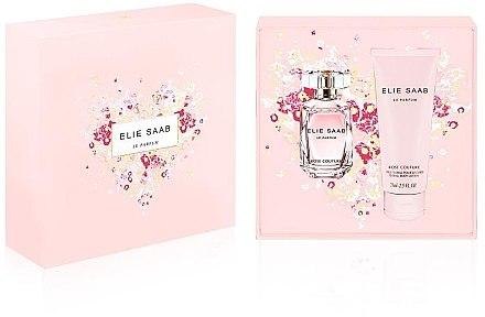 Elie Saab Le Parfum Rose Couture - Duftset (Eau de Toilette/30ml + Körperlotion/75ml) — Bild N1
