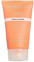 Düfte, Parfümerie und Kosmetik Aufhellende Gesichtsreinigungscreme mit Vitamin C - Revolution Skincare Brightening Cleansing Cream With Vitamin C