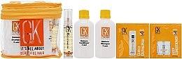 Düfte, Parfümerie und Kosmetik Haarpflegeset - GKhair Pro Line Juvexin (Shampoo 44ml + Conditioner 44ml + Haarmaske 10ml + Haarcreme 10ml + Haarserum 10ml)