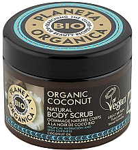 Düfte, Parfümerie und Kosmetik Feuchtigkeitsspendendes Körperpeeling mit Bio Kokosöl - Planeta Organica Organic Coconut Natural Body Scrub