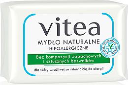 Düfte, Parfümerie und Kosmetik Hypoallergene Naturseife - Vitea Hypoallergenic Uscented Soap