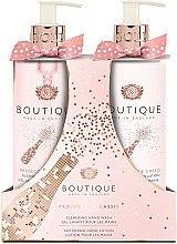 Düfte, Parfümerie und Kosmetik Handpflegeset Prosecco und Johannisbeere - Grace Cole Boutique Prosecco & Cassis Hand Set (Handgel 500ml + Handlotion 500ml)