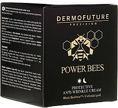 Düfte, Parfümerie und Kosmetik Schützende Anti-Falten Gesichtscreme für Tag und Nacht - Dermofuture Power Bees Protective Anti-wrinkle Cream