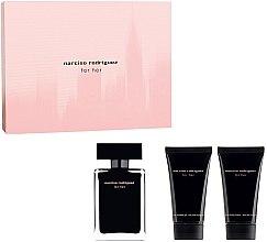 Düfte, Parfümerie und Kosmetik Narciso Rodriguez For Her - Duftset (Eau de Toilette 50ml + Körperlotion 50ml + Duschgel 50ml)