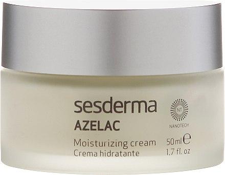 Feuchtigkeitsspendende Gesichtscreme - SesDerma Laboratories Azelac Moisturizing Cream — Bild N2