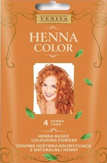 Kräuterfarbhaarspülung aus natürlicher Henna - Venita Henna Color — Bild 4 - Henna