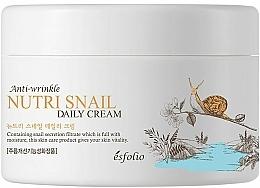Düfte, Parfümerie und Kosmetik Feuchtigkeitsspendende und nährende Anti-Falten Gesichtscreme mit Schneckenschleimfiltrat - Esfolio Nutri Snail Daily Cream