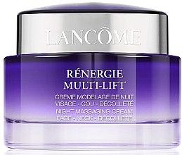 Düfte, Parfümerie und Kosmetik Massagecreme für Gesicht, Hals und Dekolleté mit Lifting-Effekt - Lancome Renergie Multi-Lift Massaging Cream