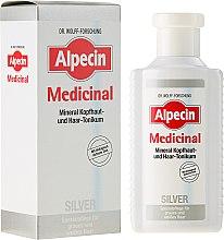 Düfte, Parfümerie und Kosmetik Mineral Kopfhaut- und Haar-Tonikum gegen Gelbstich für graues und weißes Haar - Alpecin Medicinal Silver