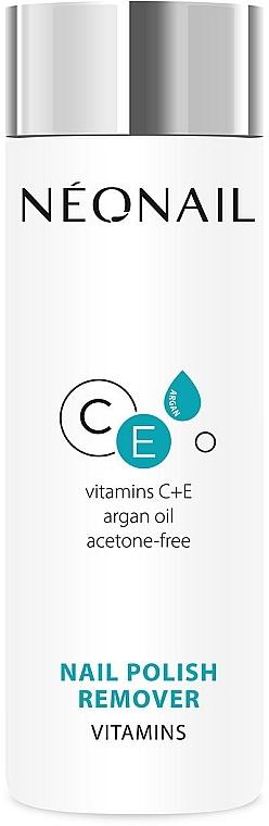 Acetonfreier Nagellackentferner mit Arganöl, Vitamin C und E - NeoNail Professional Nail Polish Remover