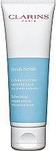 Düfte, Parfümerie und Kosmetik Erfrischendes Creme-Peeling mit pflanzlichen Mikroperlen - Clarins Fresh Scrub