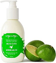 Düfte, Parfümerie und Kosmetik Feuchtigkeitsspendende Körperlotion Morning Mojito - Uoga Uoga Morning Mojito Body Lotion