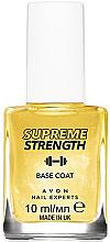 Düfte, Parfümerie und Kosmetik Unterlack mit Goldpartikeln - Avon Nail Experts Gold Strength Base Coat