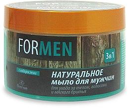 Düfte, Parfümerie und Kosmetik 3in1 Natürliche Seife für Körper, Haar und Rasur - Floresan For Men