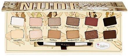 Lidschattenpalette - TheBalm NudeTude Eyeshadow Palette — Bild N1