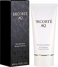 Düfte, Parfümerie und Kosmetik Feuchtigkeitsspendende Peel-Off-Gesichtsmaske - Cosme Decorte AQ Moisture Lift Mask
