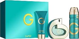 Duftset - Emper G Pour Femme (Eau de Parfum 100ml + Deospray 200ml + Körperlotion 100ml) — Bild N1