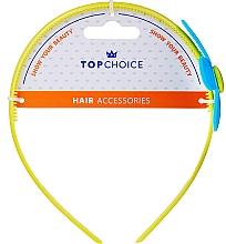Düfte, Parfümerie und Kosmetik Haarreif 27864 gelb mit blauer Blume - Top Choice