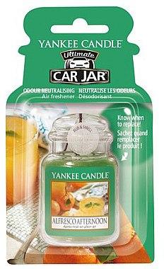 Auto-Lufterfrischer Alfresco Afternoon - Yankee Candle Car Jar Ultimate Alfresco Afternoon — Bild N1