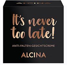 Düfte, Parfümerie und Kosmetik Anti-Aging Gesichtscreme - Alcina It's Never Too Late Cream