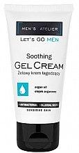 Düfte, Parfümerie und Kosmetik Beruhigende Gel-Creme mit Arganöl für Männer - Hean Men's Atelier Soothing Gel Cream