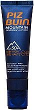 Düfte, Parfümerie und Kosmetik Sonnenschutzcreme und Lippenbalsam SPF 50 - Piz Buin Mountain Suncream + Lipstick SPF50