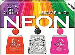 Düfte, Parfümerie und Kosmetik Set - IBD Just Gel Polish Neon Kit (Gel Nagellack 3*14ml)
