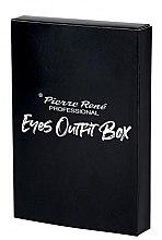 Düfte, Parfümerie und Kosmetik Make-up Set (Wimperntusche 15ml + Eyeliner 2.5ml + Augenkonturenstift 0.35g) - Pierre Rene Outfit Eyes Box