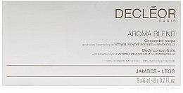 Düfte, Parfümerie und Kosmetik Straffendes Körperkonzentrat mit ätherischen Ölen - Decleor Aroma Blend Body Concentrate Legs
