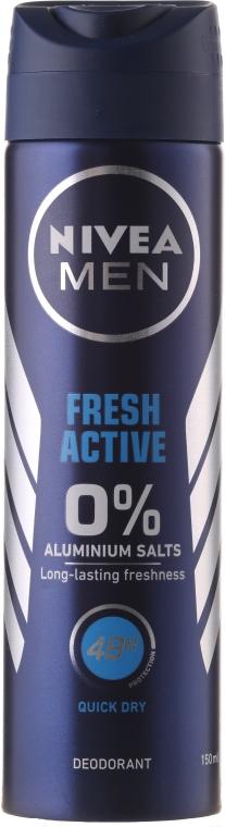 Deospray Antitranspirant - Nivea Men Fresh Active Deodorant — Bild N1