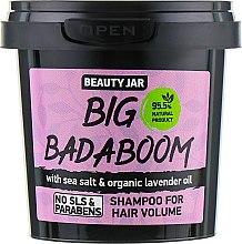 """Shampoo für mehr Volumen """"Big Badaboom"""" - Beauty Jar Shampoo For Hair Volume — Bild N1"""