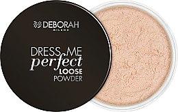 Düfte, Parfümerie und Kosmetik Loser Gesichtspuder - Deborah Dress Me Perfect Loose Powder