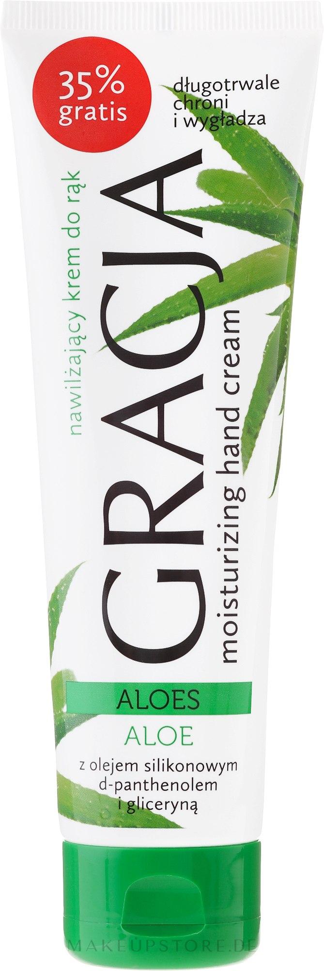 Feuchtigkeitsspendende Handcreme mit Aloeextrakt - Miraculum Gracja Aloe Hand Cream — Bild 100 ml