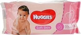 Düfte, Parfümerie und Kosmetik Feuchttücher für Kinder Soft Skin 56 St. - Huggies